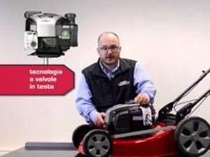 Mower with easy starts with new engines from Briggs