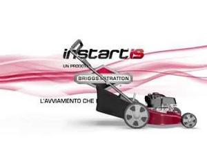 With InStart the mower starts with a button