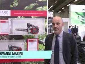 Emak has the professional pruning chain saws Giugiaro design