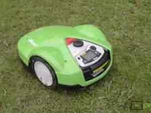 Robot mower Viking iMow with remote control