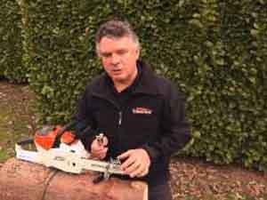 Stihl tutorial: how to sharpen the chain