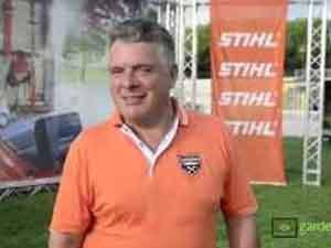 Try it for yourself, in the field with the CEO of Stihl