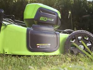 Greenworks 60-Volt, 21-Inch, Self-Propelled Lawn Mower