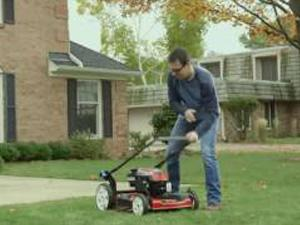 New technology Mow N'Stow