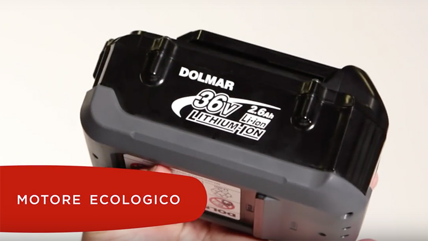 Dolmar: new work system with lithium battery