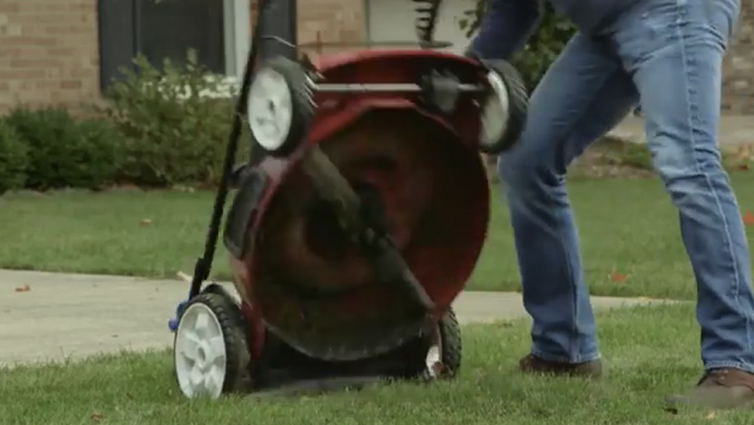 The space-saving technology to mower Briggs & Stratton winning the USA