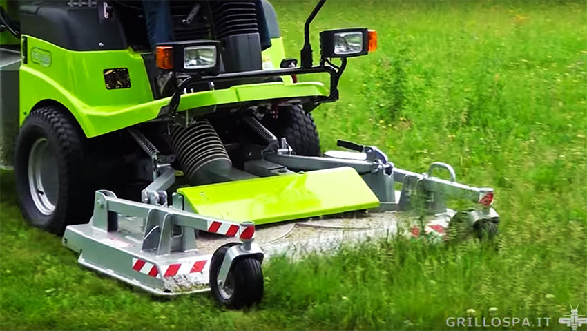 For professional gardeners: Grillo FD2200 4WD
