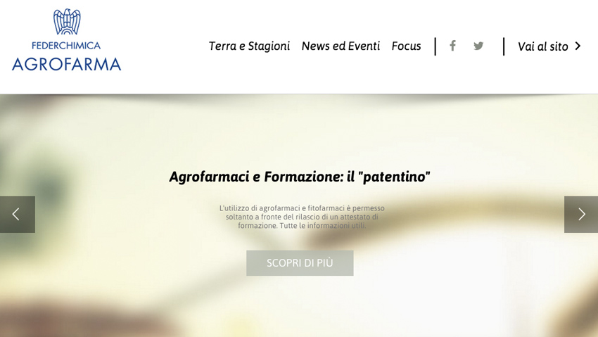 Online the new blog of Agrofarma