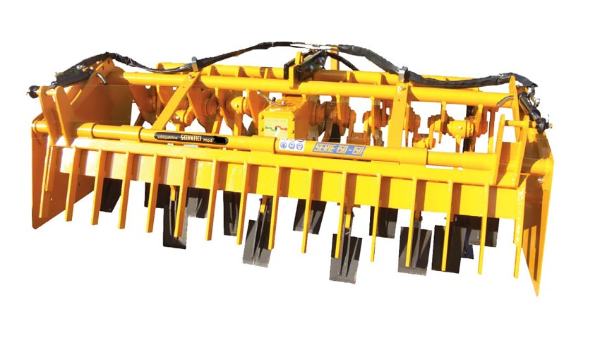 New diggers for greenhouses or light soil