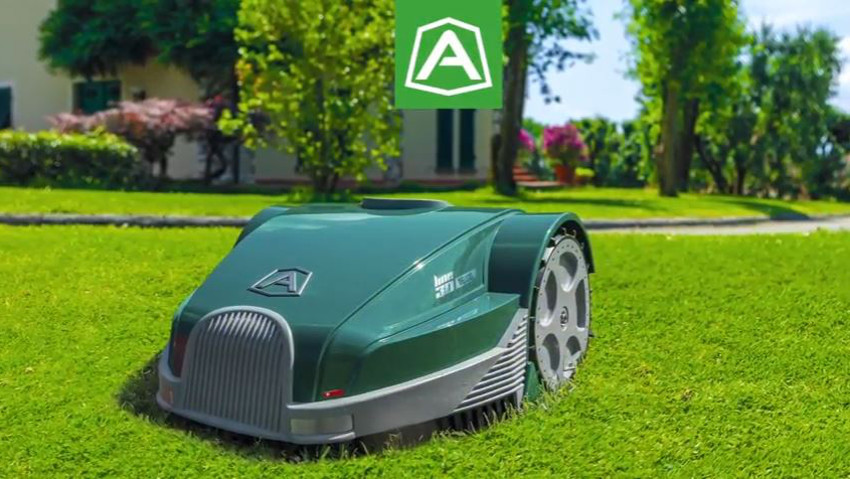 Ambrogio Green Line, the simple and innovative robot
