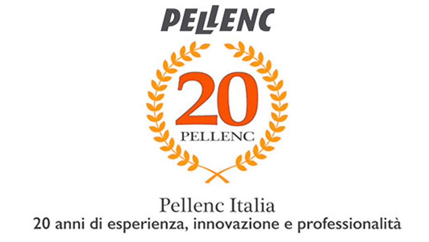 The 20 year of Pellenc Italy