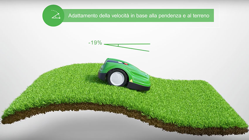 Robot Viking Lawn iMow for lawn care