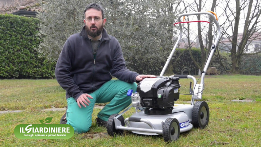 How different types of cutting of the mower work