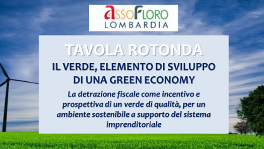 Dilations for green: round table in Milan