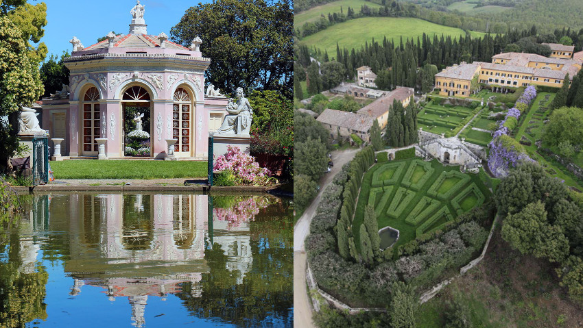 Here are the most beautiful parks in Italy 2017