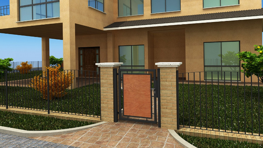 Renew external spaces with fences