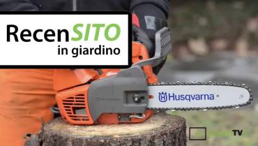 Test Husqvarna pruning chainsaw