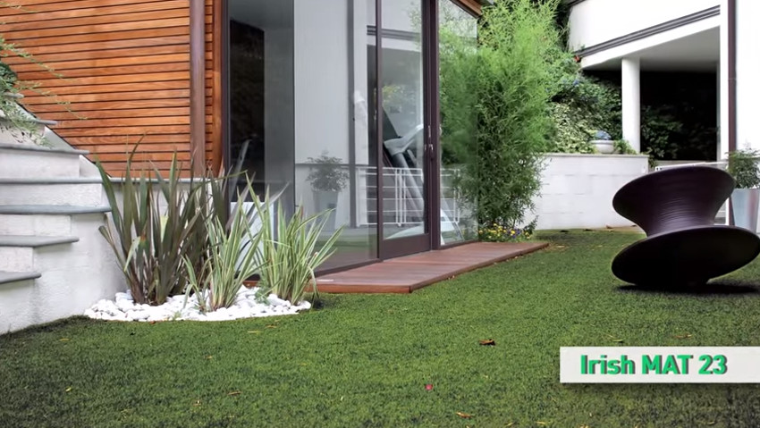 How to install synthetic lawns