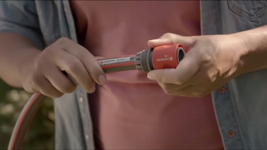 Gardena: the Power Grip tubes in the new spot in 2014