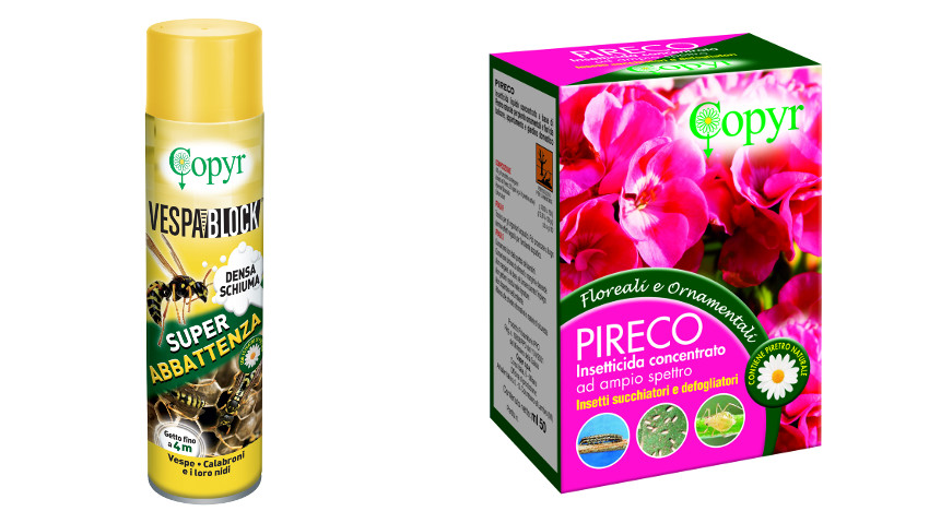Solutions against parasites, wasps and hornets