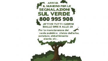 A toll-free number for green maintenance