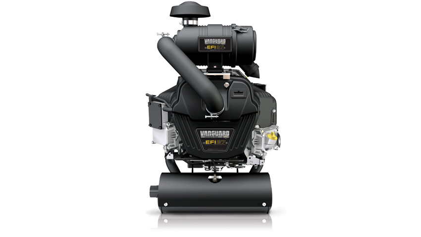 Less fuel, more power with the new Vanguard engine