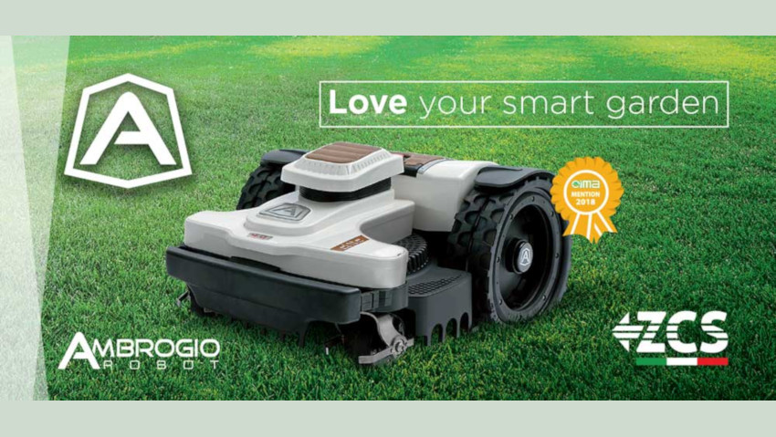 The new generation of Ambrogio robot at Eima