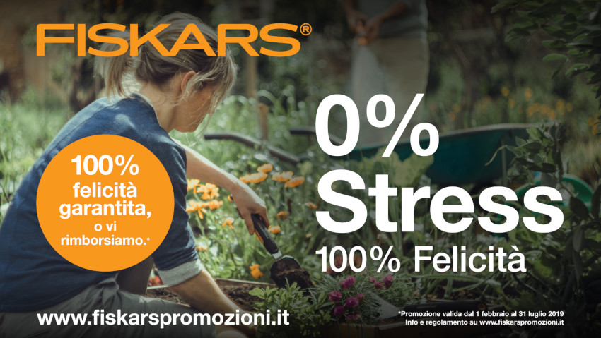 Fiskars 'test products' for 100 days