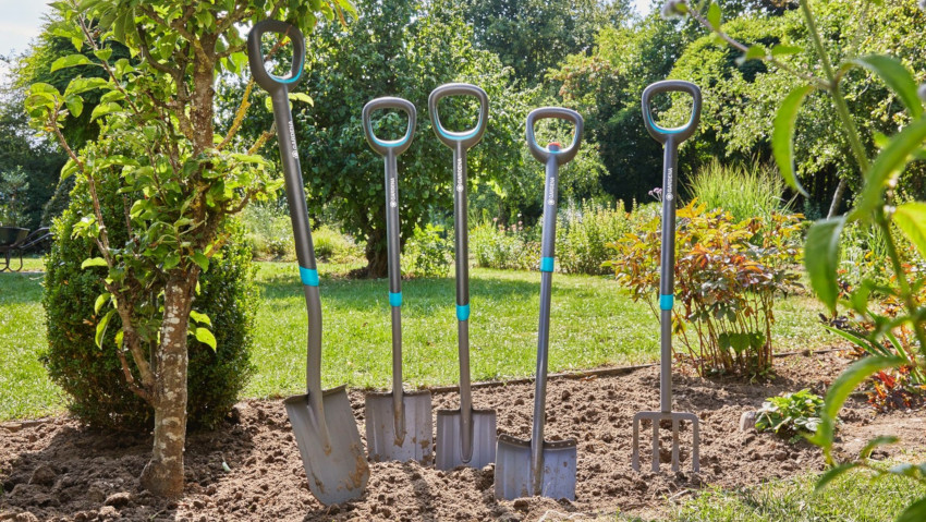 Comfort and minimum effort with the new garden tools