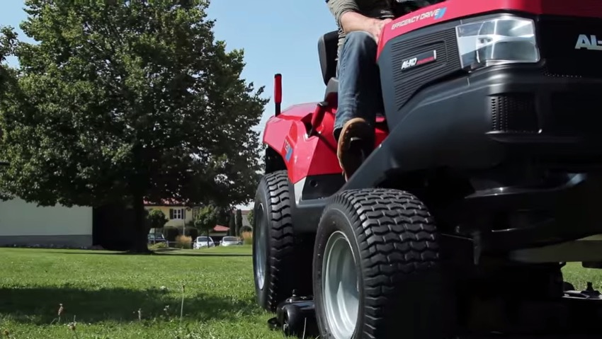 New line of lawn tractors AL-KO Powerline