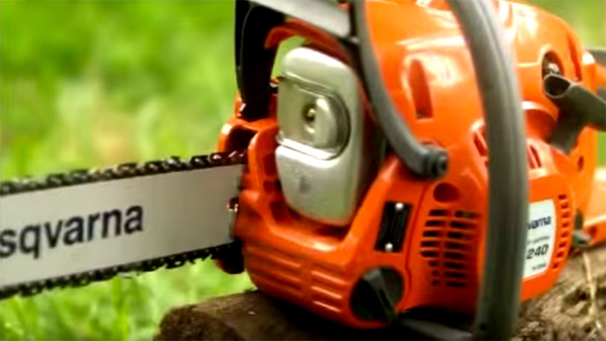 Husqvarna 240 chainsaw: quality and efficiency