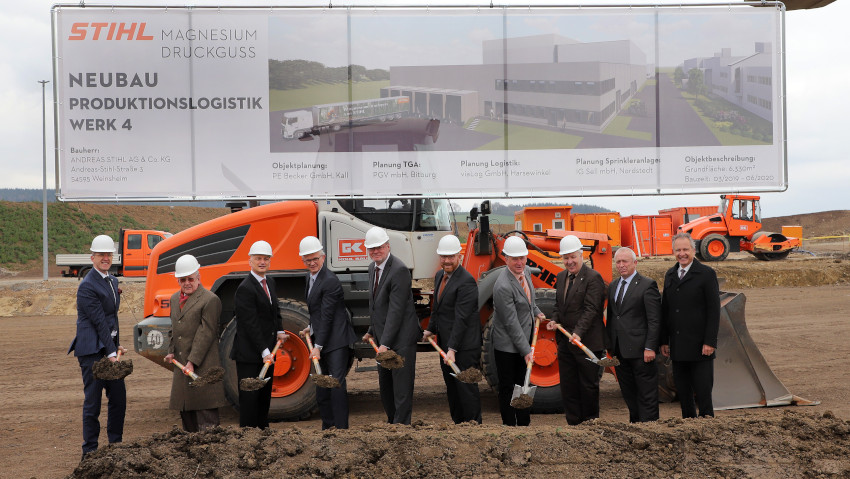 Stihl expands the plant in the Rhineland and hires