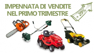 Garden machines: the most sold