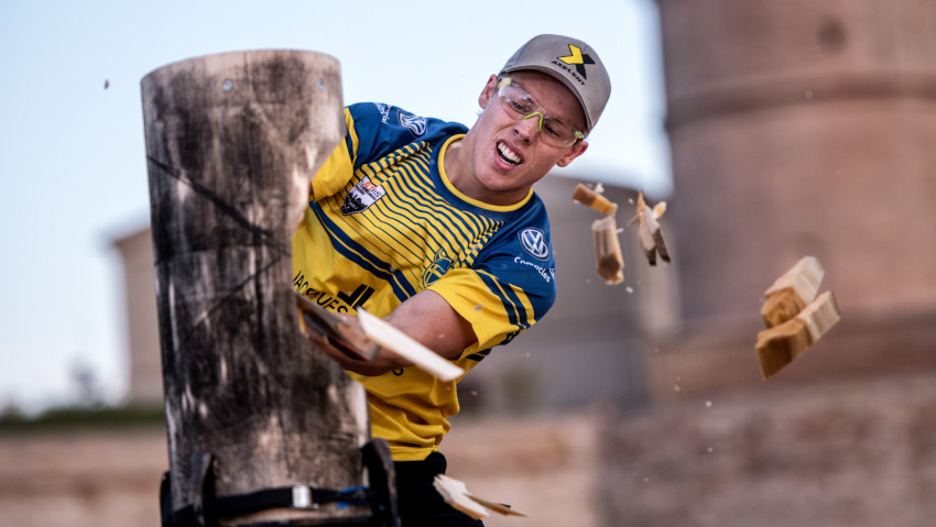 Stihl Timbersports, how to follow the live broadcast