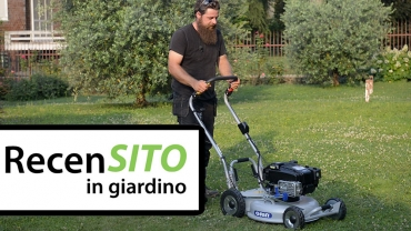 Grin PM53 Pro Instart professional lawnmower test