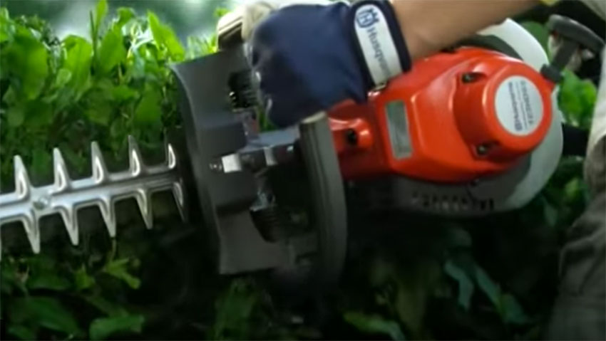 Husqvarna hedge trimmers: power and precision