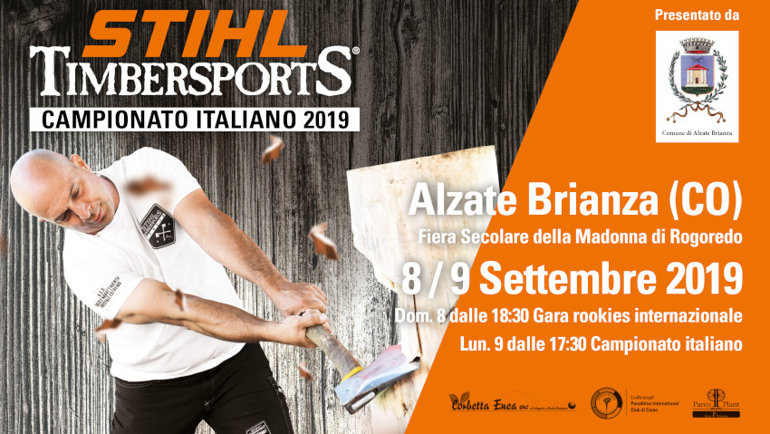 Stihl Timbersports, the Italian final