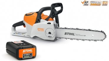 The most powerful Stihl battery-powered chainsaw