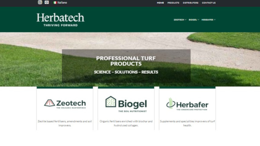 Herbatech launches the new site, with the B2B shop