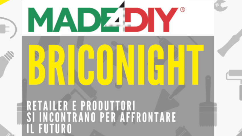 Briconight: the event for the world of DIY and garden