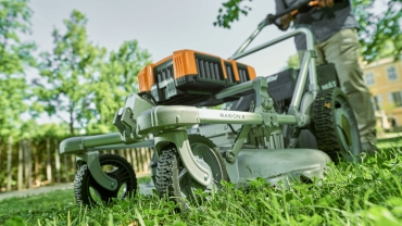 Rasion 2 by Pellenc: the mower for professionals