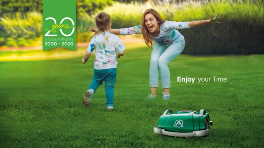 Robot lawn mowers for small gardens
