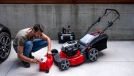 Maintenance of the mower in the spring
