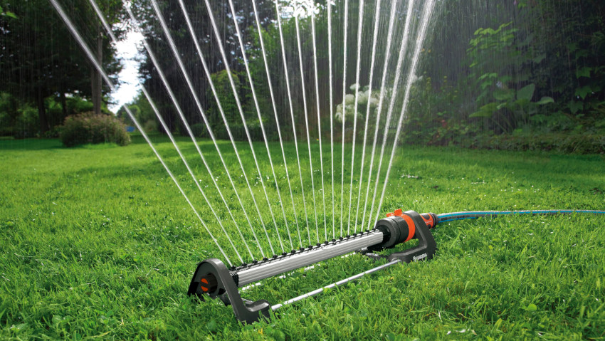 Oscillating sprinklers for any type of garden