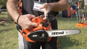 Lightweight and powerful pruning chainsaw