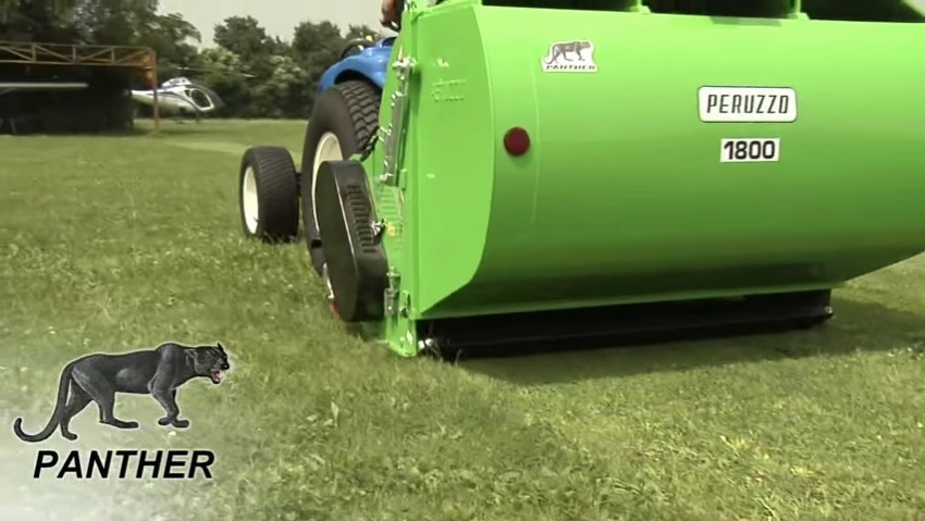 Mower with collection Peruzzo Panther