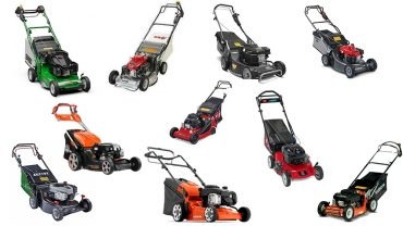 10 lawn mowers tried by a gardener. pros and cons