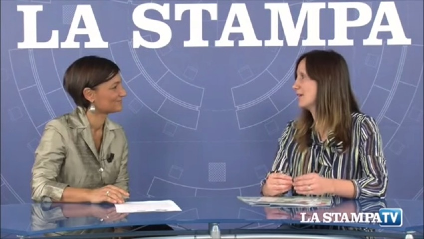Interview with La Stampa Scarlett Baiocchi Bama