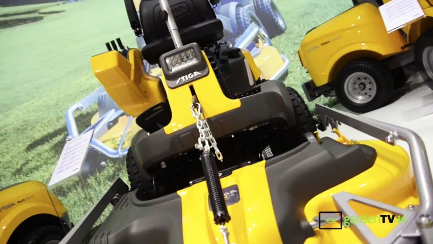 GGP Italy: new tractor front plate