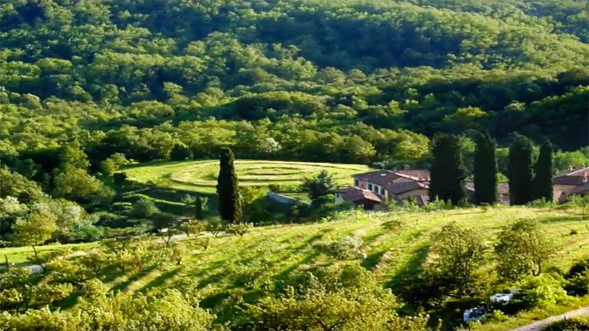 The most beautiful gardens in Italy, but also orchards